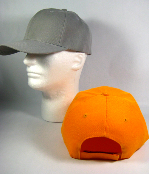 Wholesale Blank Baseball Caps Plain Acrylic Ball Hats ...