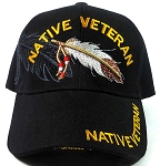 Native Pride VETERAN Baseball Caps Hats Wholesale