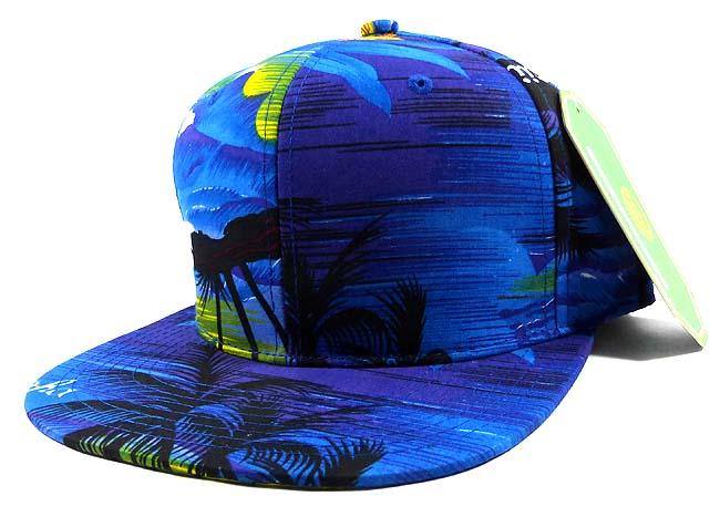 blank snapback hats caps wholesale cool hawaii blue