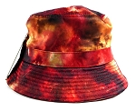 Wholesale Fashion Bucket Hats - Galaxy | Red