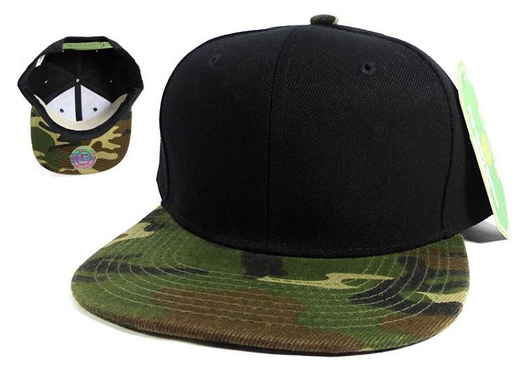 blank black snapback hats - photo #47