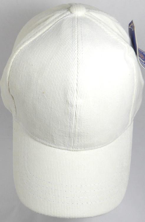 plain white baseball caps cheap bulk corduroy cotton cap wholesale slider buckle fitted