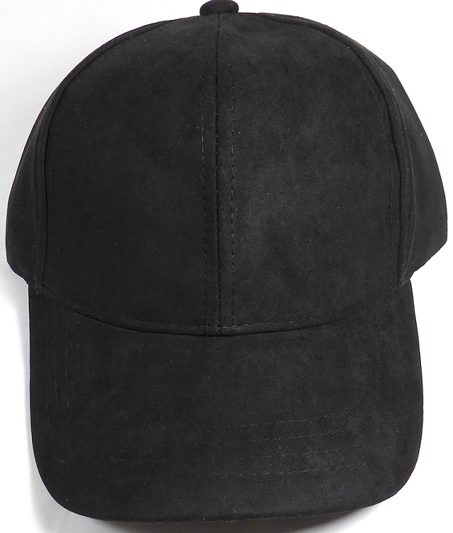 leather baseball cap with fur pom wholesale suede black faux