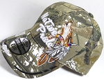 Wholesale Native Pride Baseball Cap - Howling Wolf - Autumn Camo