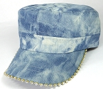 Bling Blank - Cadet Caps Wholesale - Denim L. Stone Splash
