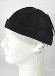 Wholesale Brimless Cap - Suede Black