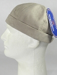 Wholesale Brimless Cap - Suede - Light Gray
