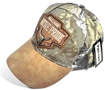 Wholesale Native Pride Leather Brim Cap - Heritage - A. Camo