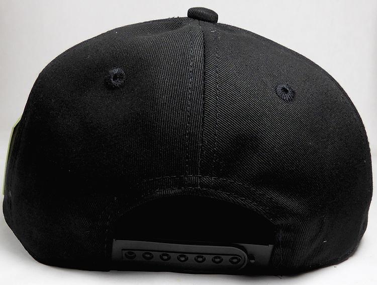 Wholesale Cotton Blank Snapback Hat Piano Brim