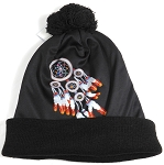Wholesales Fashion Pom Pom Beanie Winter Hats - Native Pride - Dreamcatcher