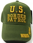 US Border Patrol Caps Wholesale - Olive Green