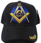Wholesale MASON Ball Caps Hats - Black - Mason Emblem Back