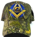 Wholesale MASON Ball Caps Hats - Camouflage - Mason Emblem Back