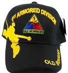 Wholesale 1st Armored Division Military Caps Hats - Old Ironsides