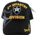 Wholesale 2nd Infantry Division US Military Hats Caps