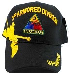 Wholesale 3rd Armored Division US Military Hats Caps - Spearhead