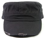 Blank Cadet Hats Wholesale - Charcoal Grey