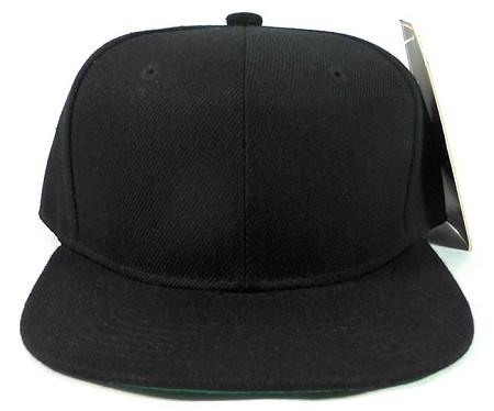 blank black snapback hats -#main