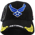 Wholesale US Military Air Force Hats - USAF Retired Caps