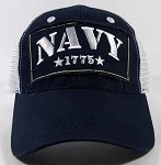 Wholesale US Military Navy Caps - NAVY Mesh Hats
