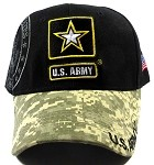 Wholesale US Military Army Caps - ARMY Star Hats Digital Camo