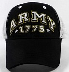 Wholesale US Military Army Caps - ARMY 1775 Mesh Hats