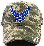 Wholesale US Military Air Force Caps - USAF Digital Camouflage
