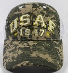 Wholesale US Military Air Force Caps - USAF Camo Mesh Hats