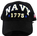 Wholesale US Military Navy Caps - NAVY 1775 Hats
