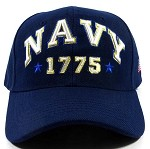 Wholesale US Military Navy Caps - NAVY 1775 Hat