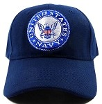 Wholesale US Military Navy Hats - NAVY Emblem Ball Caps