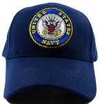 Wholesale US Military Navy Hats - NAVY Emblem Ball Cap