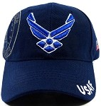 Wholesale US Military Ball Caps - USAF Insignia Hats