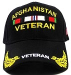 Wholesale US Military Vet Ball Caps - Afghanistan Veteran Hats