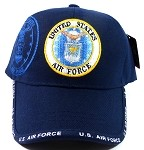 Wholesale Military Hats - US Air Force Insignia Ball Cap