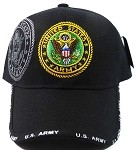 Wholesale Military Hats - US Army Insignia Ball Caps