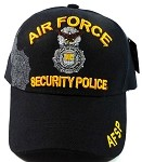 Wholesale Military Hats - Air Force Security Police Ball Caps