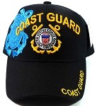 Wholesale Military Hats - US Coast Guard Ball Caps