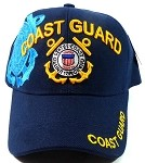 Wholesale Military Hats - US Coast Guard Ball Caps - Navy