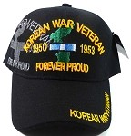 "Wholesale US Military Hats - Korean War Veteran Caps - ""Forever Proud"""