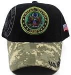 Wholesale US Military Ball Caps - Army Insignia & Camo
