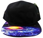STRAPBACK 5-Panel Blank Camp Hats Caps Wholesale - Galaxy