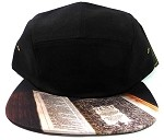 STRAPBACK 5-Panel Blank Camp Hats Caps Wholesale - Bible