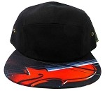 STRAPBACK 5-Panel Blank Camp Hats Caps Wholesale - Violin