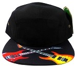 STRAPBACK 5-Panel Blank Camp Hats Caps Wholesale - Rock Guitars