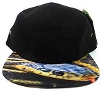 STRAPBACK 5-Panel Blank Camp Hats Caps Wholesale - Snake