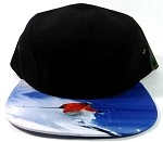 STRAPBACK 5-Panel Blank Camp Hats Caps Wholesale - Skier