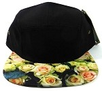 STRAPBACK 5-Panel Blank Camp Hats Womens Caps Wholesale - Roses