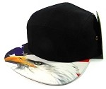 STRAPBACK 5-Panel Blank Camp Hats Caps Wholesale - American Eagle