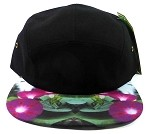 STRAPBACK 5-Panel Blank Camp Hats Caps Wholesale - Morning Glory Flowers
